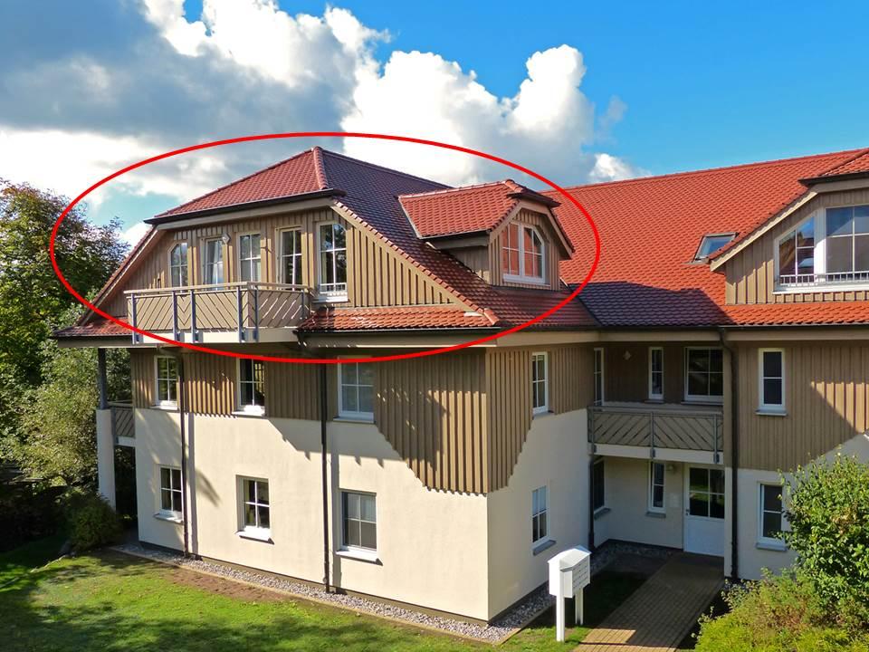 Dünensuite Dachgeschoss