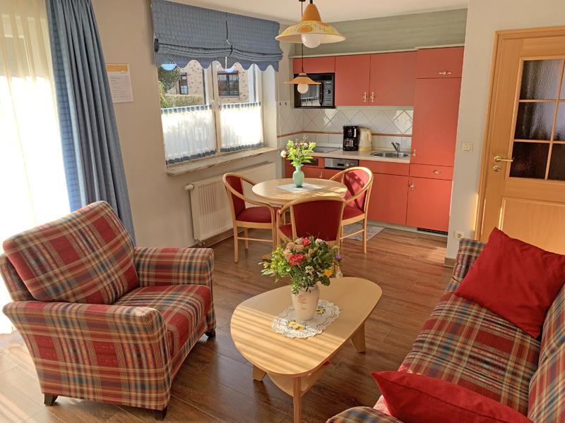 FeWo 2 Wohn-Essbereich mit Küche